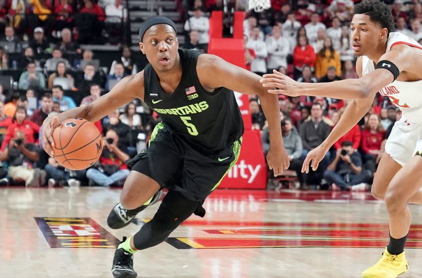 Point guards like Cassius Winston could be ideal targets in the second round for the New Orleans Pelicans (Photo by Mitchell Layton/Getty Images)