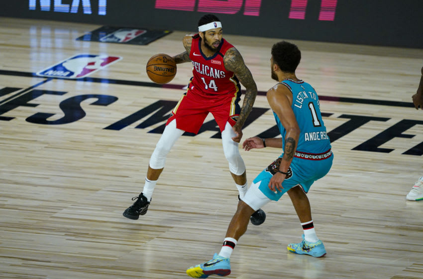 Brandon Ingram #14 of the New Orleans Pelicans (Photo by Ashley Landis - Pool/Getty Images)