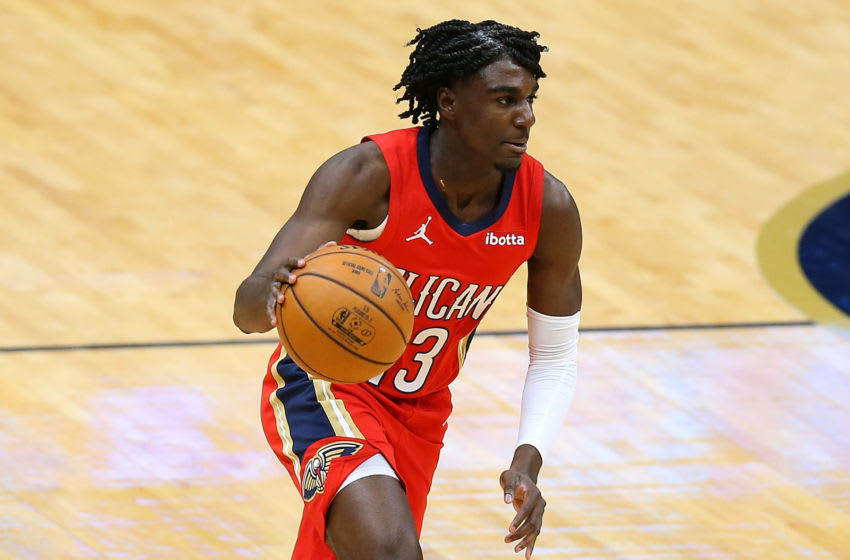Kira Lewis Jr. of the New Orleans Pelicans (Photo by Jonathan Bachman/Getty Images)
