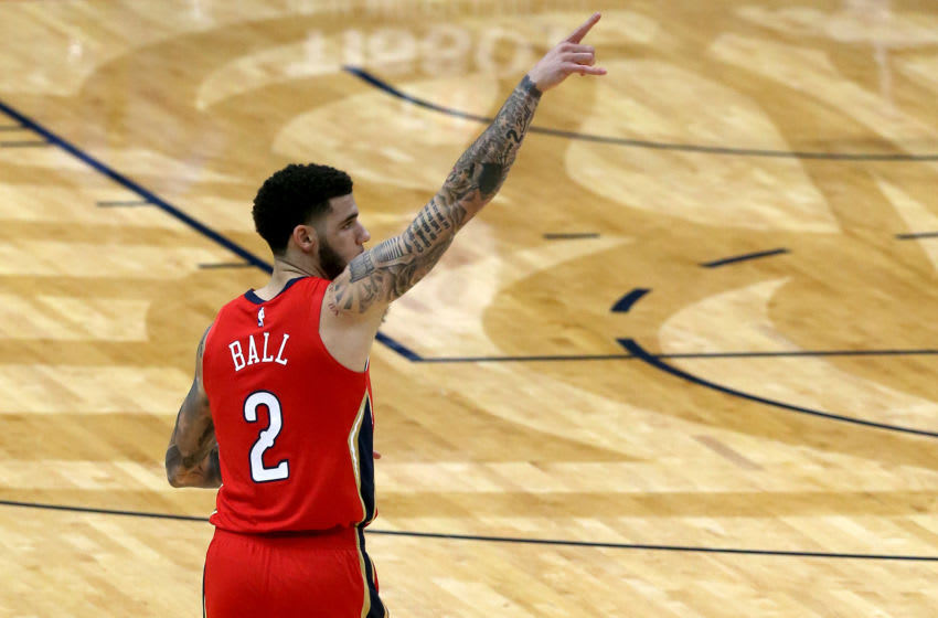 Lonzo Ball, New Orleans Pelicans (Photo by Sean Gardner/Getty Images)