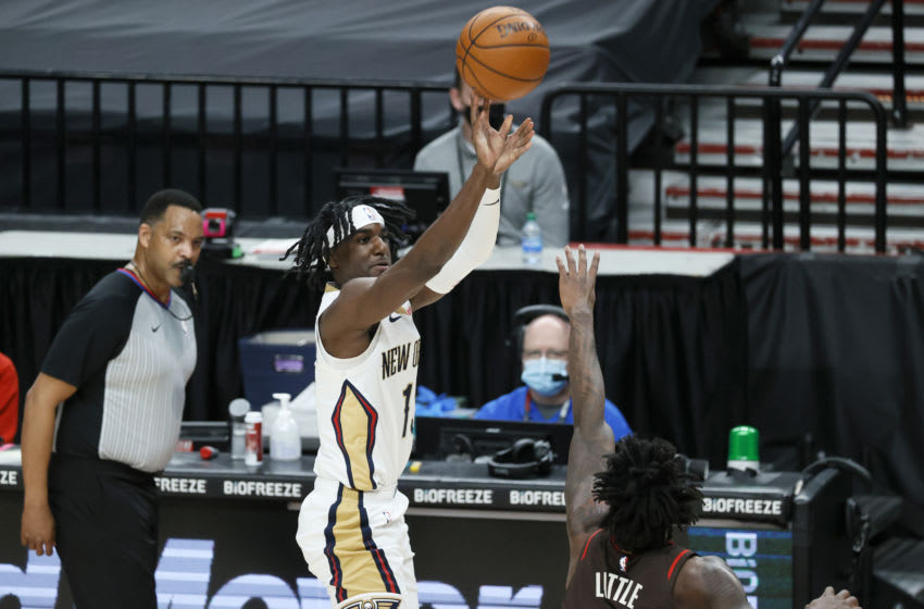 Kira Lewis Jr. #13 of the New Orleans Pelicans (Photo by Steph Chambers/Getty Images)