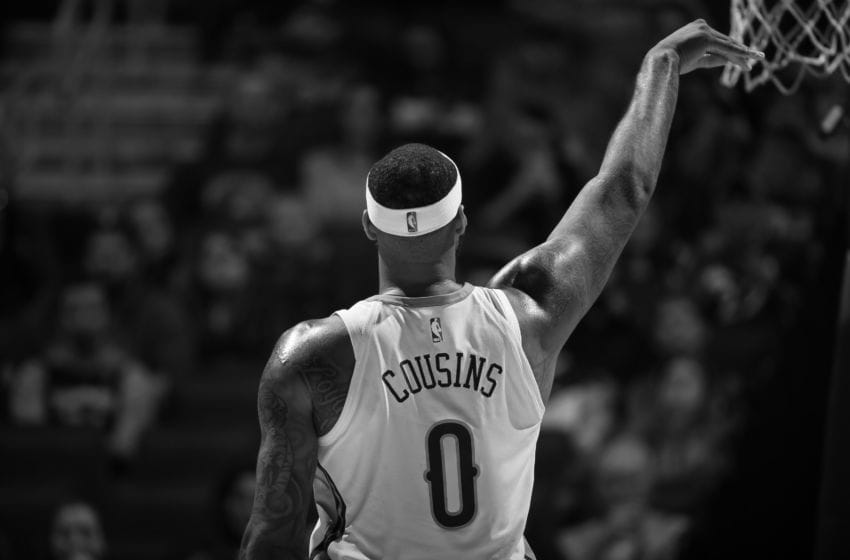 DeMarcus Cousins New Orleans Pelicans(Photo by David Sherman/NBAE via Getty Images)