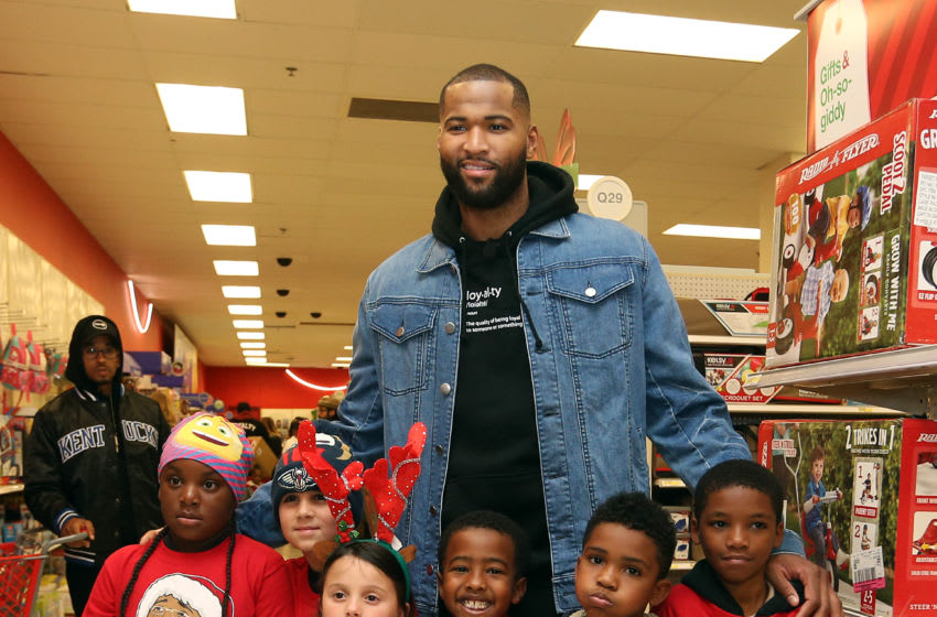 NEW ORLEANS, LA - DECEMBER 7: DeMarcus Cousins