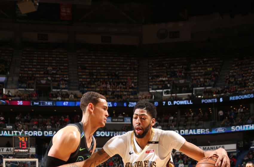 NEW ORLEANS, LA - MARCH 20: Anthony Davis