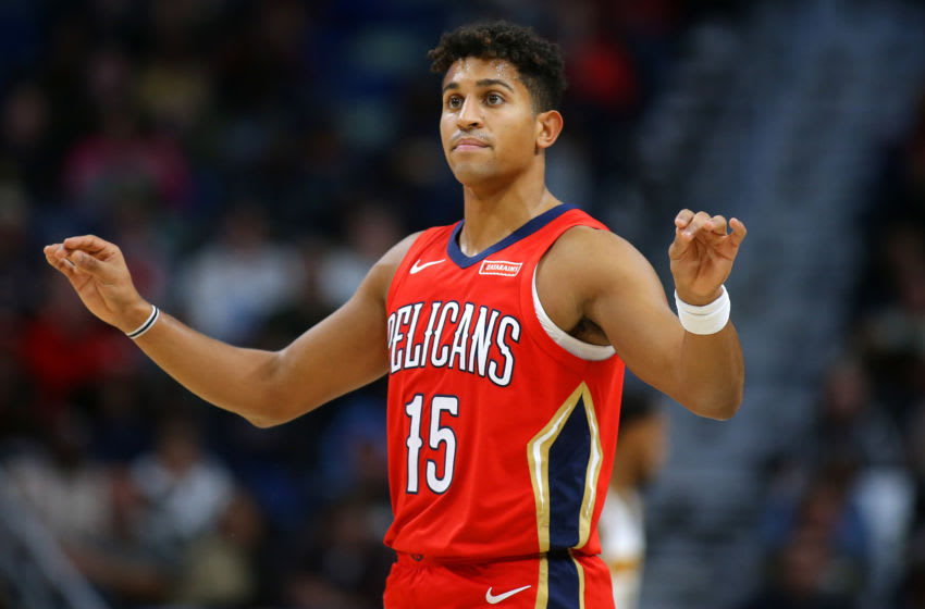 Frank Jackson #15 of the New Orleans Pelicans (Photo by Jonathan Bachman/Getty Images)