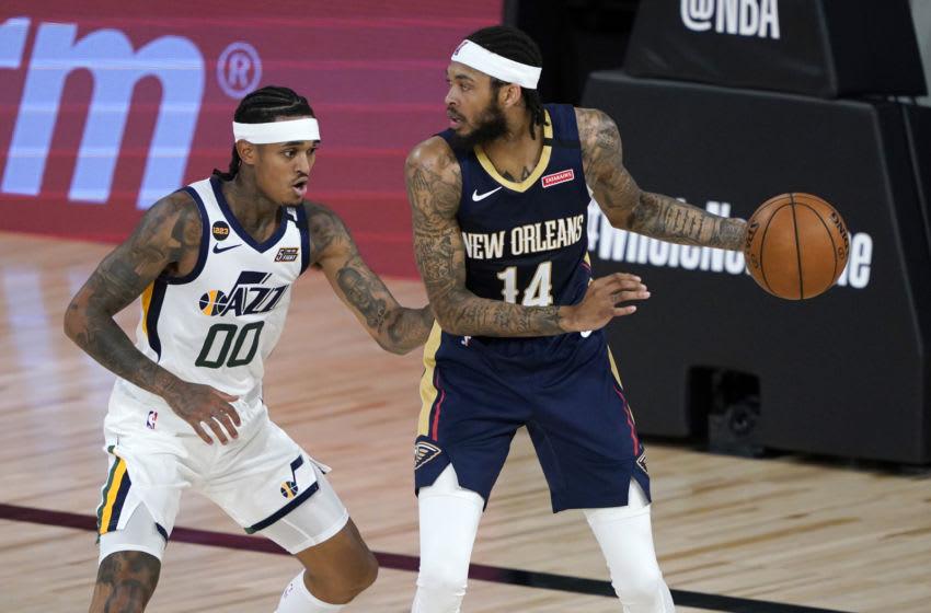 New Orleans Pelicans Brandon Ingram vs. Utah (Photo by Ashley Landis-Pool/Getty Images)