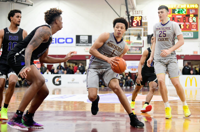 The New Orleans Pelicans might already be looking to Cade Cunningham and the 2021 NBA Draft. Mandatory Credit: Catalina Fragoso-USA TODAY Sports