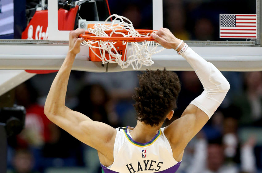 Jaxson Hayes' development should be a priority for Stan Van Gundy and the New Orleans Pelicans. Mandatory Credit: Stephen Lew-USA TODAY Sports