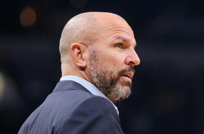 Jason Kidd might be getting an interview with the New Orleans Pelicans. Credit: Nelson Chenault-USA TODAY Sports