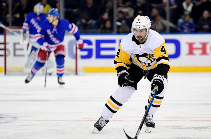 Justin Schultz #4 of the Pittsburgh Penguins(Photo by Emilee Chinn/Getty Images)