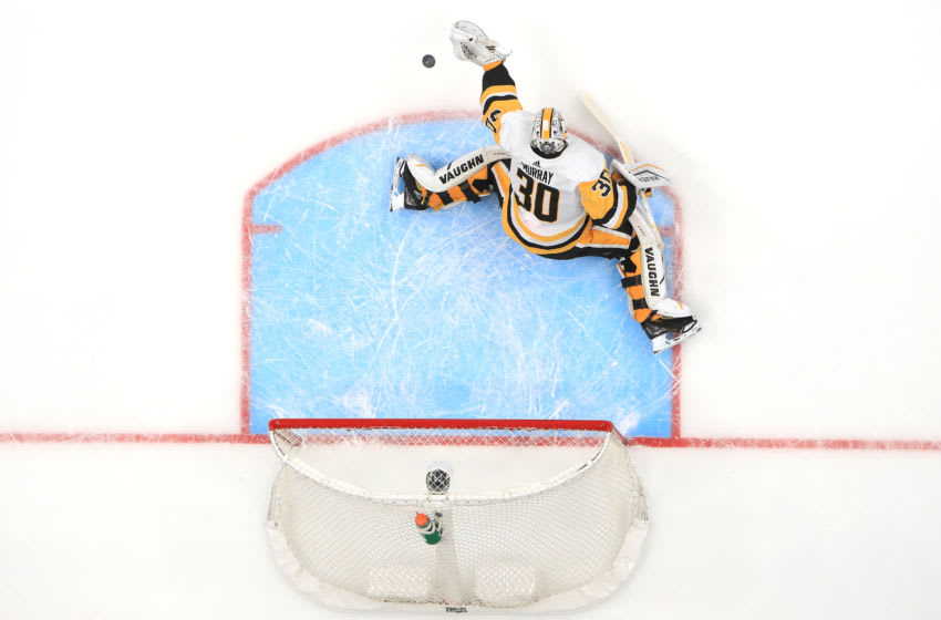 Matt Murray #30 of the Pittsburgh Penguins. (Photo by Sean M. Haffey/Getty Images)