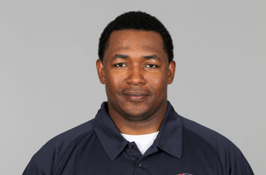 FOXBOROUGH, MA - CIRCA 2010: In this handout image provided by the NFL, Patrick Graham of the New England Patriots poses for his 2010 NFL headshot circa 2010 in Foxborough, Massachusetts. (Photo by NFL via Getty Images)