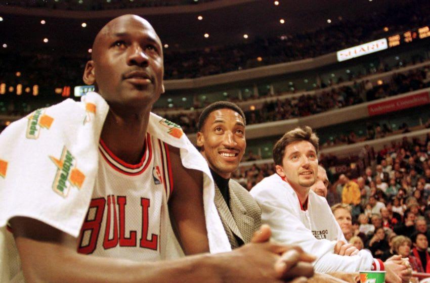 Chicago Bulls (Photo credit should read VINCENT LAFORET/AFP via Getty Images)