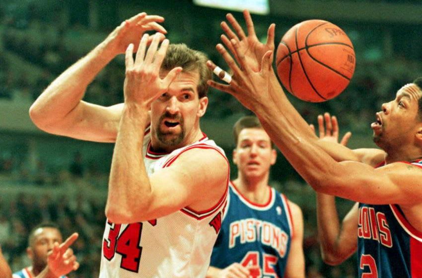 Bill Wennington, Chicago Bulls (Photo by EUGENE GARCIA / AFP) (Photo by EUGENE GARCIA/AFP via Getty Images)