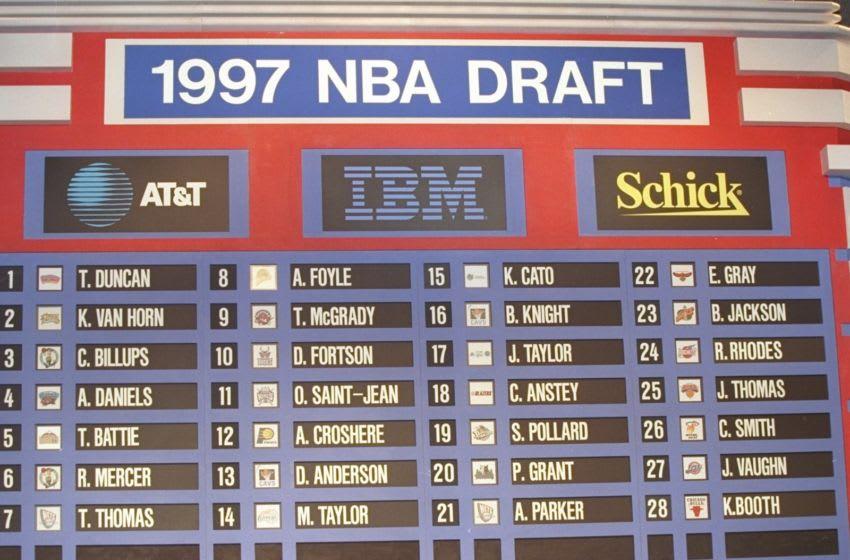 1997 NBA Draft Mandatory Credit: Craig Jones /Allsport