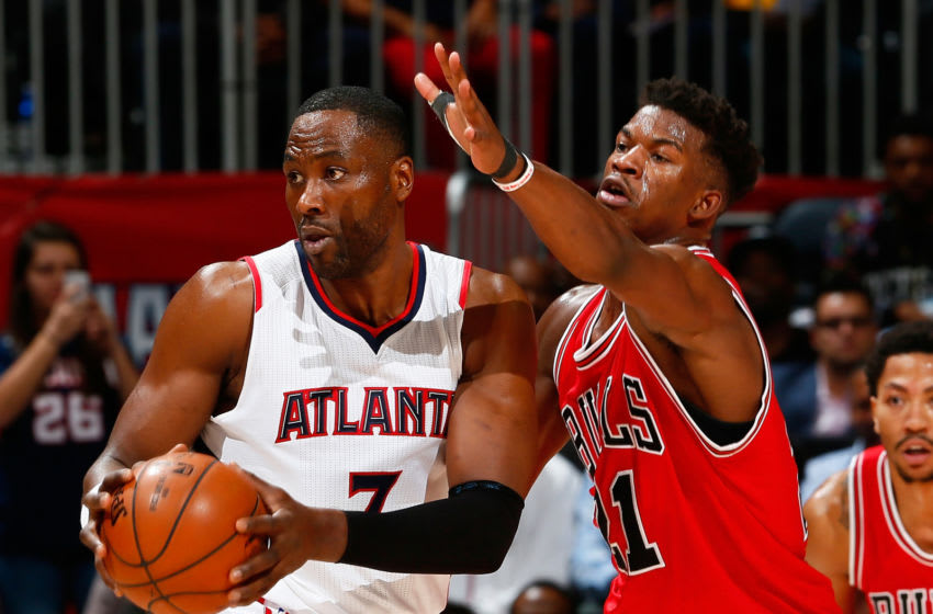 Jimmy Butler, Elton Brand, Chicago Bulls (Photo by Kevin C. Cox/Getty Images)