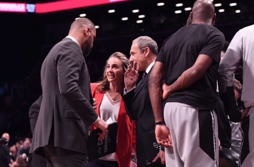 Ime Udoka, Becky Hammon (Photo by Matteo Marchi/Getty Images)