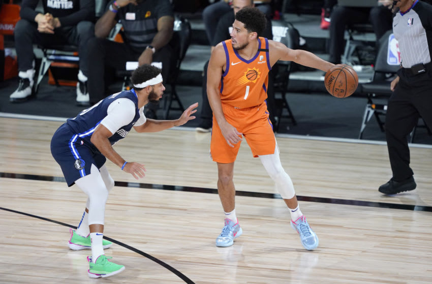 Devin Booker (Photo by Ashley Landis-Pool/Getty Images)