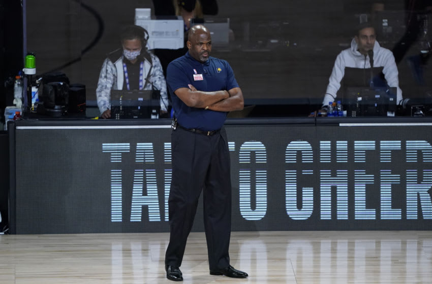 Nate McMillan (Photo by Ashley Landis-Pool/Getty Images)