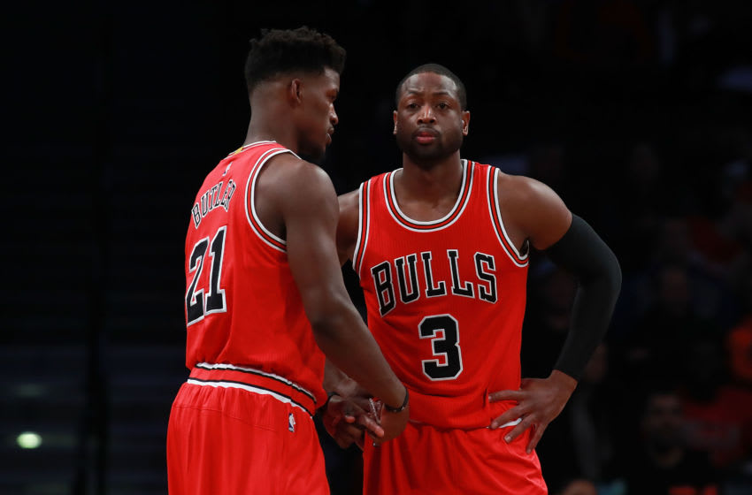 Dwyane Wade, Jimmy Butler, Chicago Bulls (Photo by Michael Reaves/Getty Images)