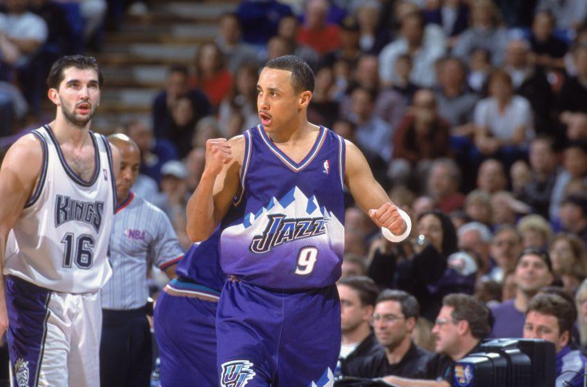 John Starks, Chicago Bulls Mandatory Credit: Jed Jacobsohn /Allsport