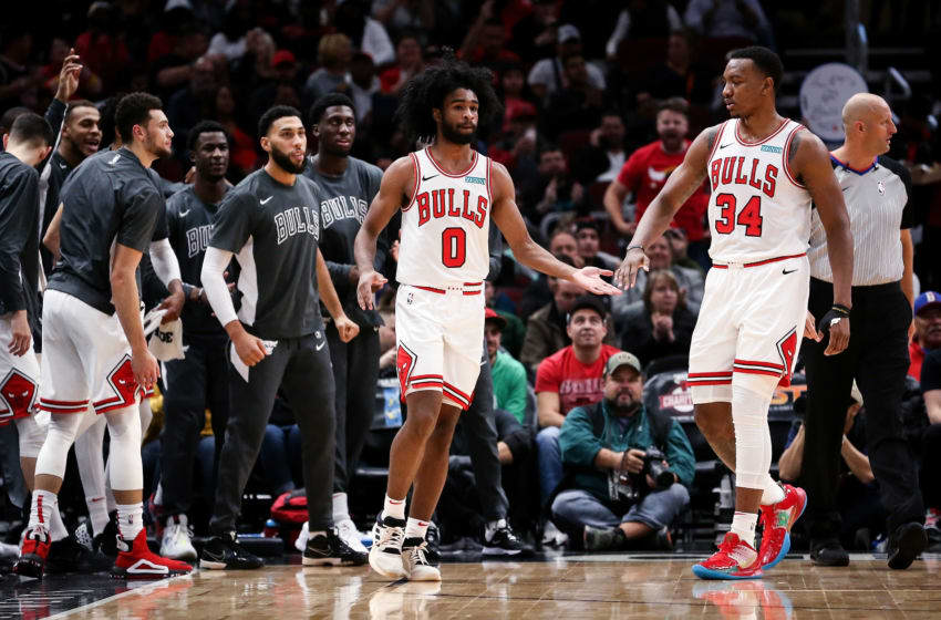 Coby White, Wendell Carter Jr., Chicago Bulls (Photo by Dylan Buell/Getty Images)