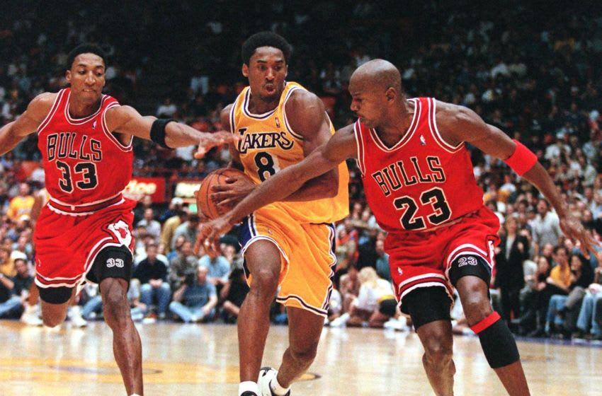 Chicago Bulls (Photo credit should read Vince Bucci/AFP via Getty Images)
