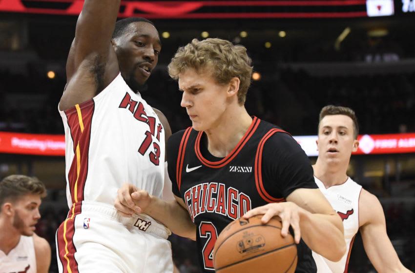 Chicago Bulls Lauri Markkanen. Mandatory Credit: David Banks-USA TODAY Sports
