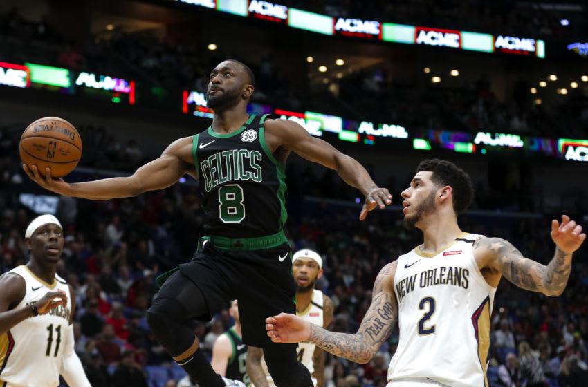 Kemba Walker, Lonzo Ball, Chicago Bulls Mandatory Credit: Derick E. Hingle-USA TODAY Sports