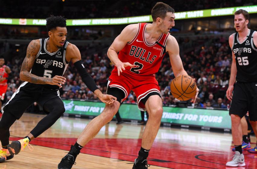 Luke Kornet, Chicago Bulls Mandatory Credit: Mike Dinovo-USA TODAY Sports