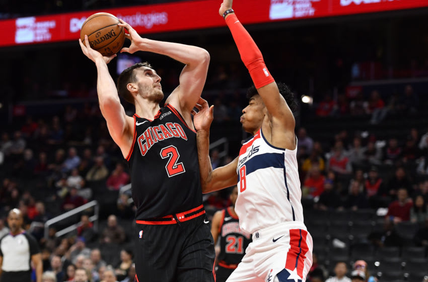 Luke Kornet, Chicago Bulls Mandatory Credit: Brad Mills-USA TODAY Sports