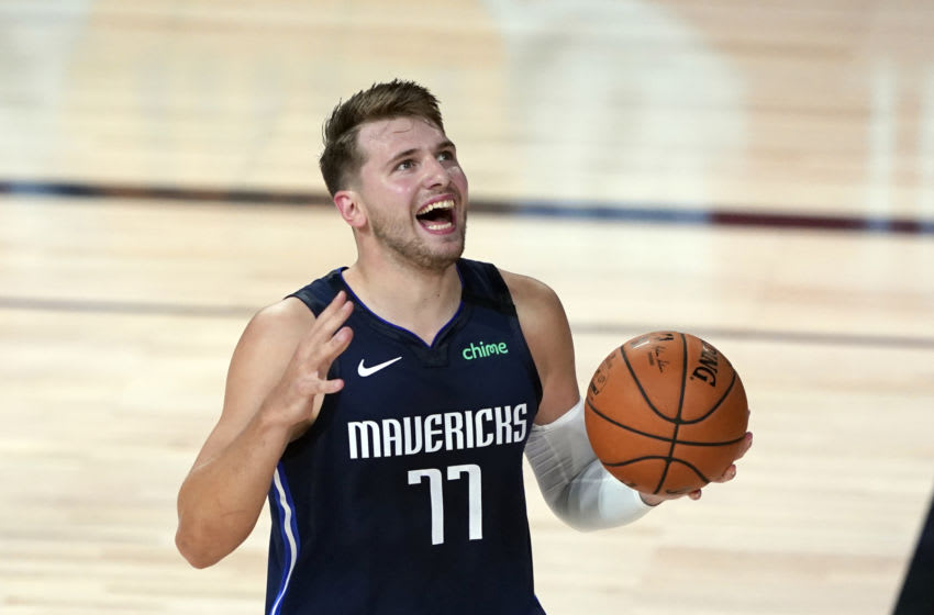 Luka Doncic Mandatory Credit: Ashley Landis/Pool Photo-USA TODAY Sports