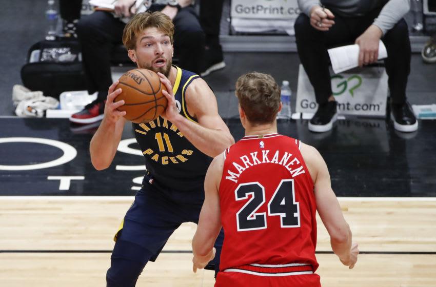 Lauri Markkanen, Chicago Bulls Mandatory Credit: Kamil Krzaczynski-USA TODAY Sports