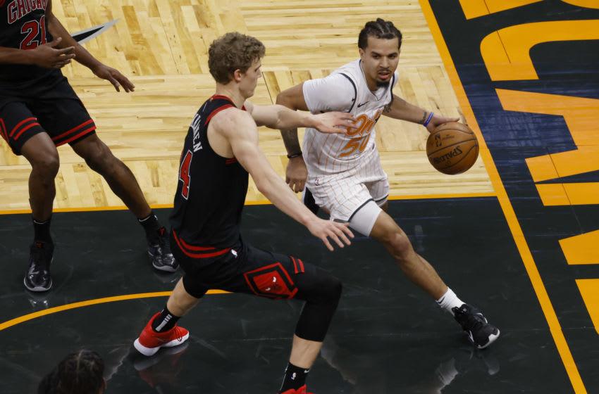 Lauri Markkanen, Chicago Bulls Mandatory Credit: Reinhold Matay-USA TODAY Sports