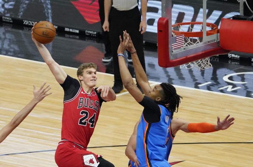 Lauri Markkanen, Chicago Bulls Mandatory Credit: Matt Marton-USA TODAY Sports