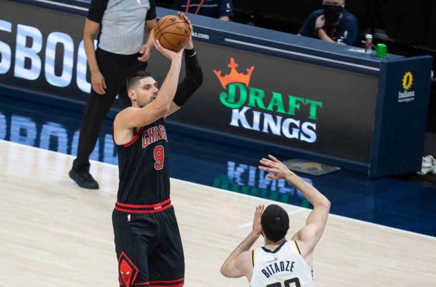 Nikola Vucevic, Chicago Bulls. Mandatory Credit: Trevor Ruszkowski-USA TODAY Sports