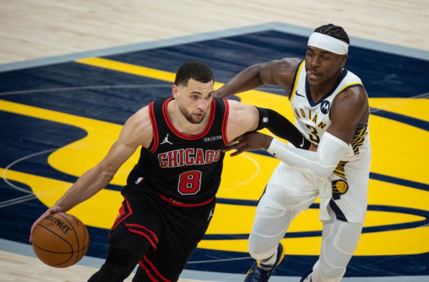 Zach LaVine, Chicago Bulls Mandatory Credit: Trevor Ruszkowski-USA TODAY Sports