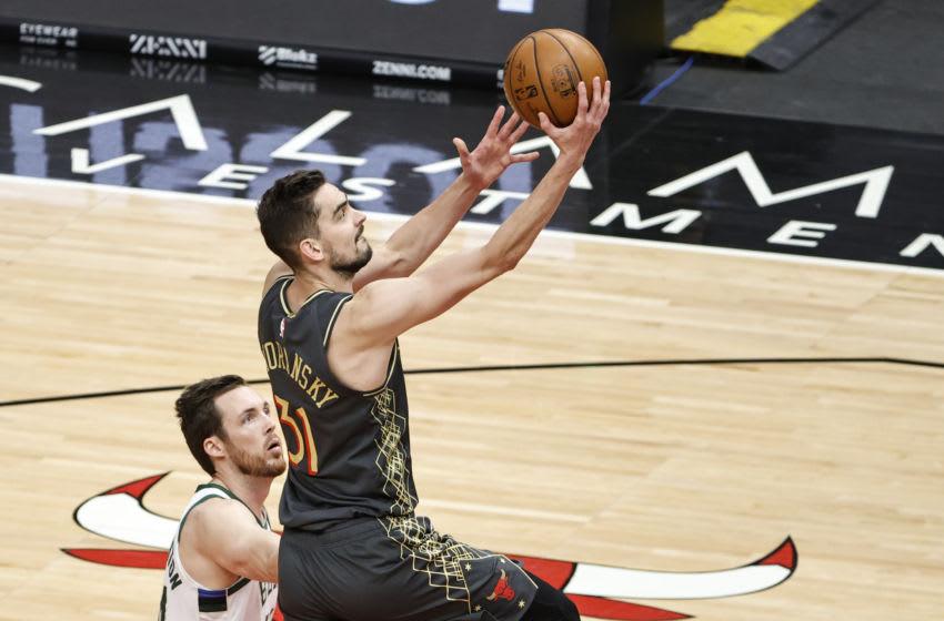 Tomas Satoransky, Chicago Bulls Mandatory Credit: Kamil Krzaczynski-USA TODAY Sports