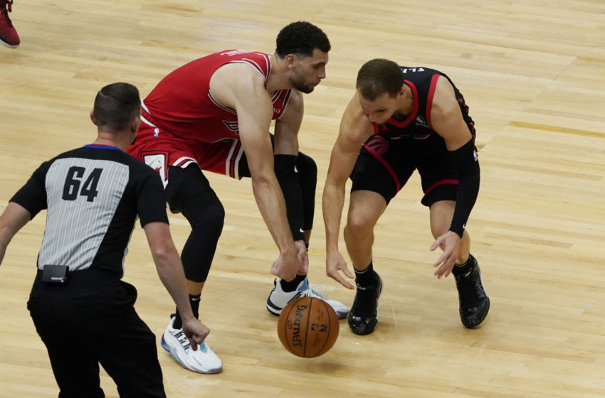 Zach LaVine, Chicago Bulls Mandatory Credit: David Banks-USA TODAY Sports