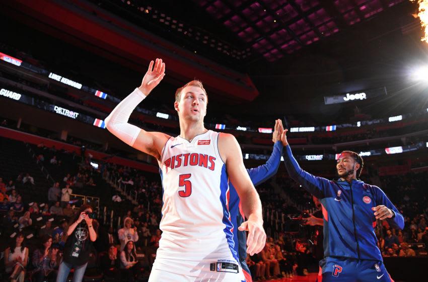 Detroit Pistons Luke Kennard. (Photo by Chris Schwegler/NBAE via Getty Images)