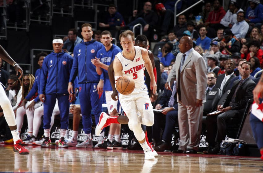 Detroit Pistons Luke Kennard. (Photo by Brian Sevald/NBAE via Getty Images)
