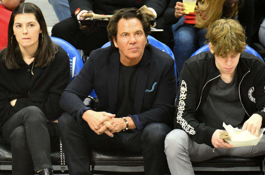Detroit Pistons owner Tom Gores. (Photo by Allen Berezovsky/Getty Images)
