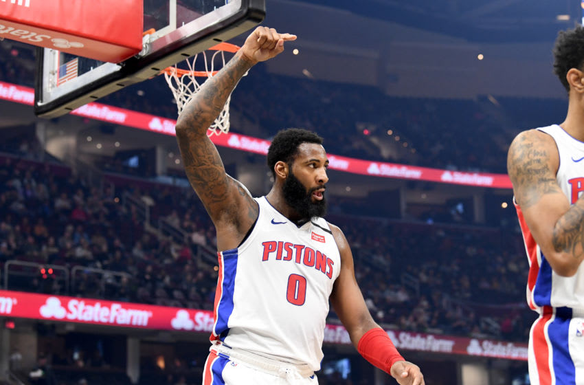 Detroit Pistons Andre Drummond. (Photo by Jason Miller/Getty Images)
