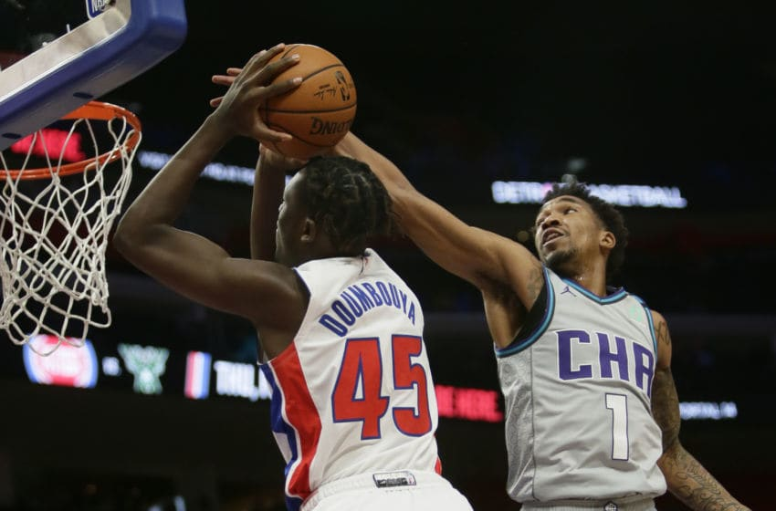 Detroit Pistons Sekou Doumbouya. (Photo by Duane Burleson/Getty Images)