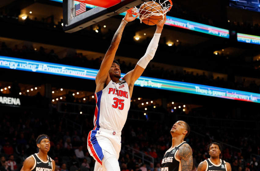 Detroit Pistons Christian Wood. (Photo by Kevin C. Cox/Getty Images)