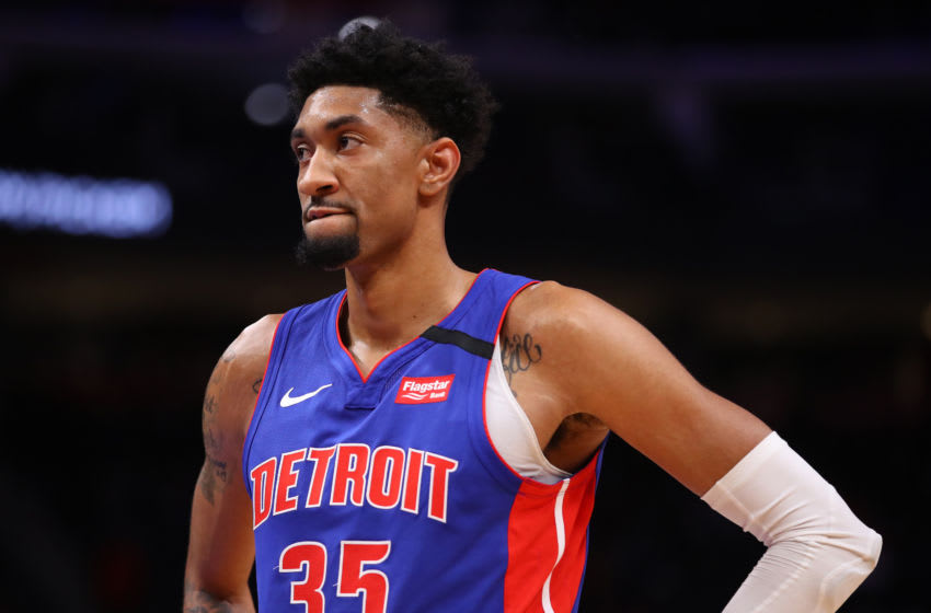 Detroit Pistons Christian Wood. (Photo by Gregory Shamus/Getty Images)