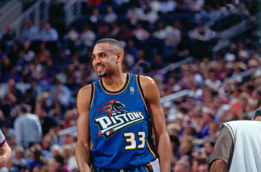 Detroit Pistons Grant Hill (Photo by Sam Forencich/NBAE via Getty Images)