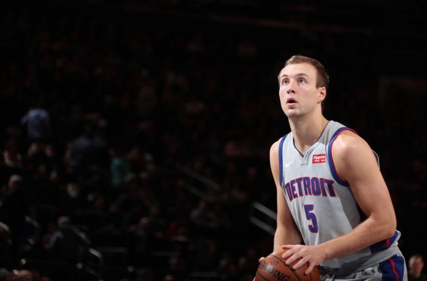 Detroit Pistons Luke Kennard. (Photo by Nathaniel S. Butler/NBAE via Getty Images)