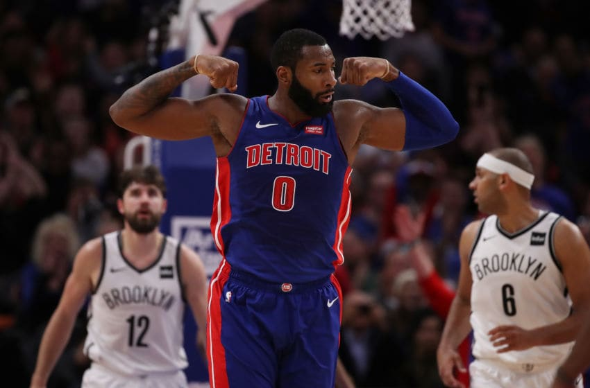 Detroit Pistons Andre Drummond. (Photo by Gregory Shamus/Getty Images)