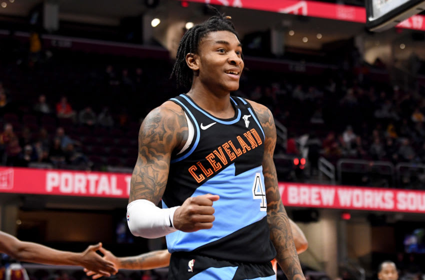 Kevin Porter Jr. #4 of the Cleveland Cavaliers could start over with the Detroit Pistons. (Photo by Jason Miller/Getty Images)